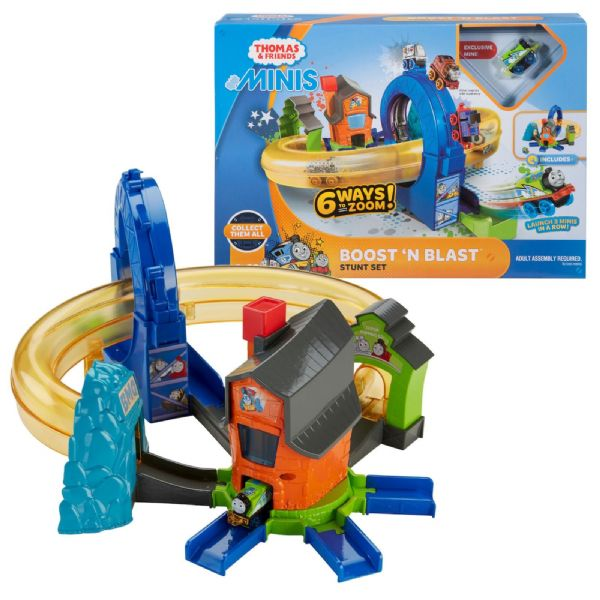 Thomas The Tank and Friends MINIS Boost n Blast Stunt Set